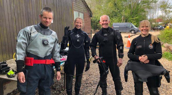 Wrasbury Diving Lake, 3rd May 2021